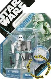 Star Wars 30th Anniversary Saga 2007 Action Figure Wave 1 #09 Stormtrooper [McQuarrie Concept]