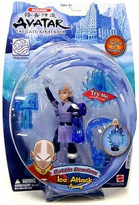 Avatar the Last Airbender Deluxe Battle Benders Action Figure Ice Attack Aang