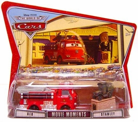 Disney / Pixar CARS Movie Moments 1:55 Die Cast Figure 2-Pack Series 3 World of Cars Red & Stanley