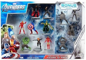 Marvel CDI Avengers Collector Edition PVC Figure 12-Pack [Thor, Hawkeye, Iron Man (Standing), Iron Man (In Flight), Captain America, Hulk, Black Widow, Loki & 4 Prototypes]