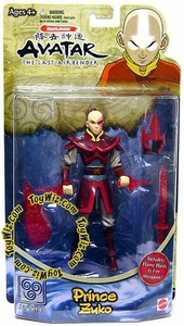 Avatar the Last Airbender Basic Action Figure Prince Zuko