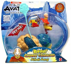 Avatar the Last Airbender Figure Toy Rippin' Combat Crashers Airball Aang