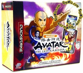 Avatar the Last Airbender Trading Card Game Master of Elements Booster Box [24 Packs]