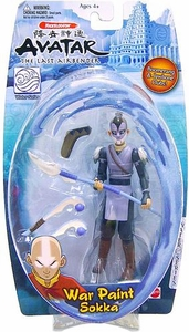 Avatar the Last Airbender Basic Water Series Action Figure War Paint Sokka