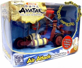 Avatar the Last Airbender Vehicle Air Nation Attack Battle Glider Damaged Package, Mint Contents!