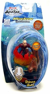 Avatar the Last Airbender Water Series Micro Scene Mini Figure Prince Zuko Damaged Package, Mint Contents!