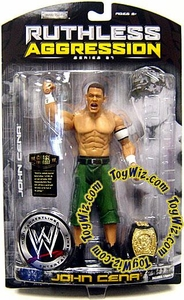WWE Wrestling Ruthless Aggression Series 27 Action Figure John Cena