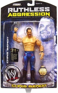WWE Wrestling Ruthless Aggression Series 26 Action Figure Chris Benoit