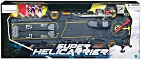 Marvel Universe 2012 SDCC San Diego Comic Con Exclusive Vehicle S.H.I.E.L.D. Super Helicarrier [Includes Captain America & Maria Hill]