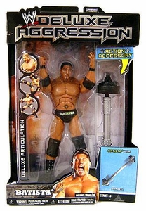 WWE Wrestling DELUXE Aggression Series 16 Action Figure Batista