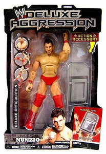 WWE Wrestling DELUXE Aggression Series 16 Action Figure Nunzio