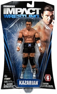 TNA Wrestling Deluxe Impact Series 6 Action Figure Kazarian