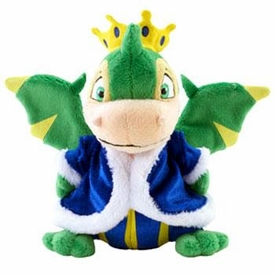 Neopets Collector Limited Edition Exclusive Plush with Keyquest Code Royal Boy Scorchio