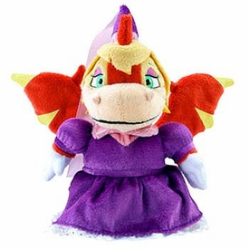 Neopets Collector Limited Edition Exclusive Plush with Keyquest Code Royal Girl Scorchio