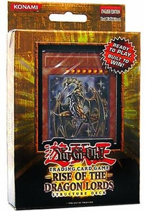 YuGiOh GX Rise of the Dragon Lords 1st EDITION Structure Deck