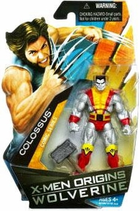 X-Men Origins Wolverine Comic Series 3 3/4 Inch Action Figure Colossus
