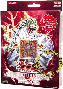YuGiOh GX Dinosaurs Rage 1st EDITION Special Edition Structure Deck [Includes 5-Headed Dragon]