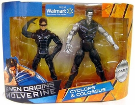 X-Men Origins Wolverine Trilogy Collection Action Figure 2-Pack Cyclops & Colossus