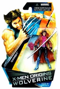 X-Men Origins Wolverine Comic Series 3 3/4 Inch Action Figure Gambit