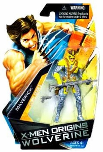 X-Men Origins Wolverine Comic Series 3 3/4 Inch Action Figure Maverick