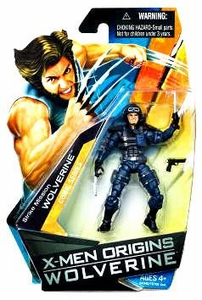 X-Men Origins Wolverine Comic Series 3 3/4 Inch Action Figure Strike Mission Wolverine