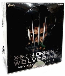 X-Men Origins Wolverine Movie Trading Card Box [24 Packs]