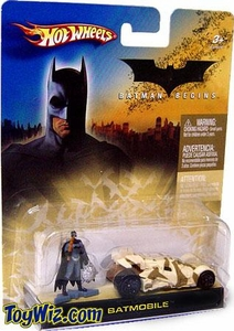 Hot Wheels Batman Begins Batmobile 1/64 Scale Diecast Camouflage Batmobile