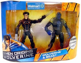 X-Men Origins Wolverine Trilogy Collection Action Figure 2-Pack Wolverine & Beast