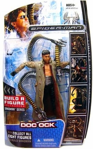 Marvel Legends Spider-Man Movie Action Figure Doc Ock [Sandman Build A Figure Piece!]