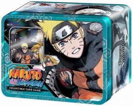 Naruto Shippuden Card Game Fierce Ambitions Collector Tin Set Naruto Vs. Akatsuki [Includes Promo Card]