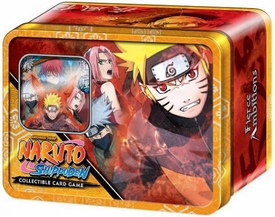 Naruto Shippuden Card Game Fierce Ambitions Collector Tin Set Naruto Save Gaara [Includes Promo Card]