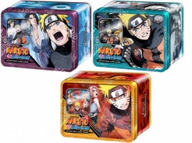 Naruto Shippuden Card Game Set of 3 Fierce Ambitions Collector Tins [Naruto Vs. Sasuke, Naruto Vs. Akatsuki & Naruto Save Gaara]