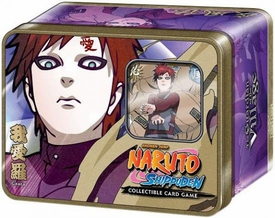 Naruto Shippuden Card Game Guardian of the Village Collector Tin Set Gaara