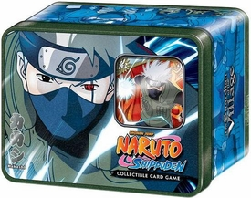 Naruto Shippuden Card Game Guardian of the Village Collector Tin Set Kakashi Hatake