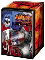 Naruto Card Game Unstoppable Force Collector Tin Set Sasuke