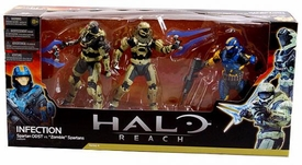 Halo Reach McFarlane Toys Action Figure 3-Pack Infection [Human Spartan & 2x Zombie Spartans]