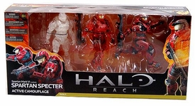 Halo Reach McFarlane Toys Action Figure 3-Pack Spartan Spectre [Active Camo, Partially Painted & Fully Painted] COLLECTOR'S CHOICE!