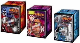 Naruto Card Game Set of 3 Unstoppable Force Collector Tin Sets [Sasuke, Kimimaro & Naruto]