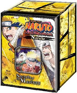 Naruto Card Game Secret of the Masters Collector Tin Set Naruto Uzumaki & Jiraiya