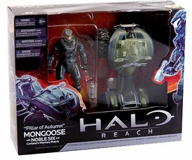 Halo McFarlane Toys Deluxe Vehicle Box Set Pillar of Autumn Mongoose [Noble Six & Cortana's Memory Matrix]
