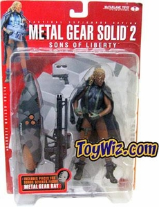 McFarlane Toys Metal Gear Solid 2 Sons of Liberty Action Figure Fortune