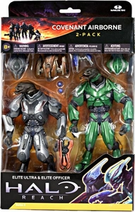 Halo Reach McFarlane Toys Series 3 Action Figure 2-Pack Covenant Airborne [Elite Ultra & Elite Officer]