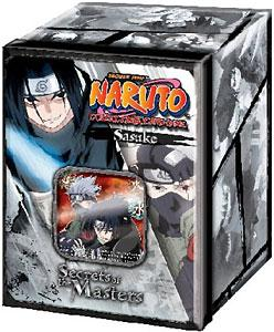 Naruto Card Game Secret of the Masters Collector Tin Set Sasuke Uchiha & Kakashi Hatake