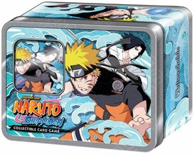 Naruto Shippuden Card Game Untouchable Collector Tin Set Naruto & Sasuke [Includes Promo Card]
