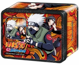 Naruto Shippuden Card Game Untouchable Collector Tin Set Kakashi & Itachi [Includes Promo Card]