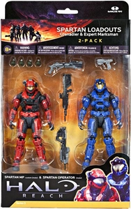 Halo Reach McFarlane Toys Series 3 Action Figure 2-Pack Spartan Loadouts [Grenadier & Expert Marksman]