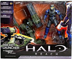 Halo Reach McFarlane Toys Deluxe Action Figure Box Set Rocket Launcher with Spartan JFO Custom