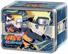 Naruto Shippuden Card Game Ultimate Battle Collector Chibi Tin Set Naruto [Includes Promo Card]