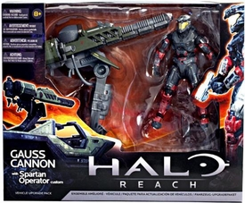 Halo Reach McFarlane Toys Deluxe Action Figure Box Set Gauss Cannon with Spartan Operator Custom