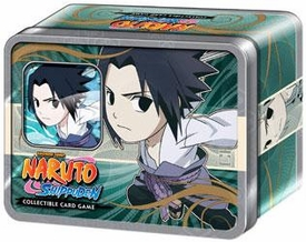 Naruto Shippuden Card Game Ultimate Battle Collector Chibi Tin Set Sasuke [Includes Promo Card]